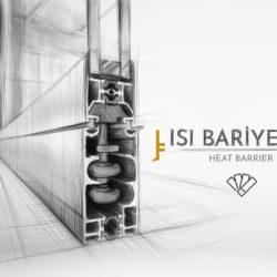 Isı bariyerli ısıcamlı cam balkon sistemi